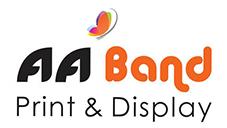 AA Band Print & Display Logo